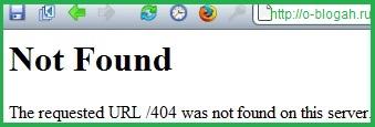 Как создать и настроить страницу 404 was not found)